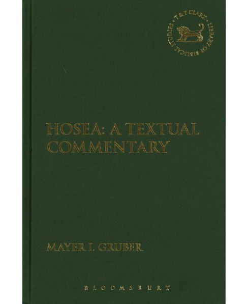 Hosea : A Textual Commentary (Hardcover) (Mayer I. Gruber) - image 1 of 1