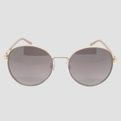 17b245e64eff Women s Round Sunglasses - A New Day™ Soft Taupe