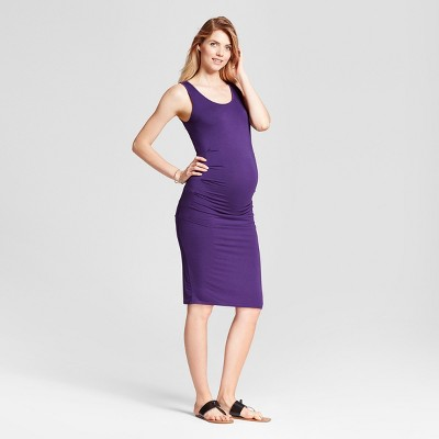 Maternity Pleated Tank Dress - Isabel Maternity By Ingrid   Isabel™   Target 98676f397d1