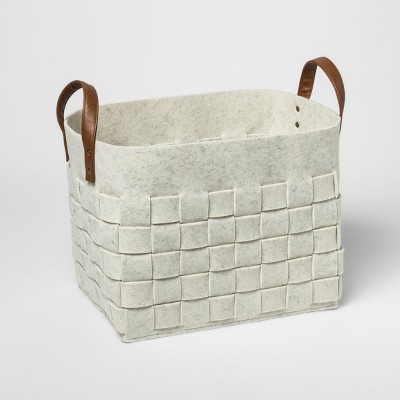 Decorative Box Basket - White - Threshold™