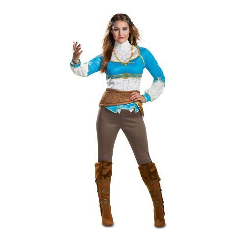 Zelda Women's Breath of the Wild Halloween Costume - Disguise - image 1 of 1