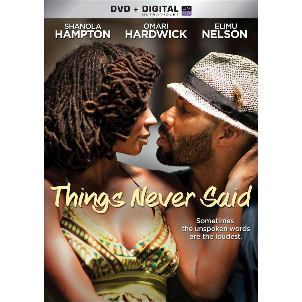 Things Never Said (Dvd), Movies