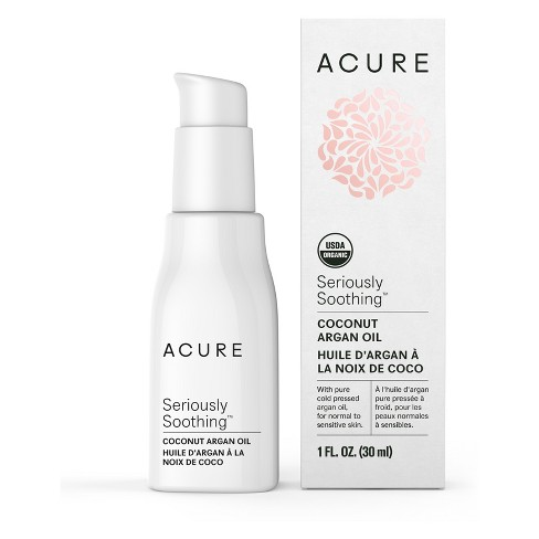 Acure Seriously Soothing Coconut Argan Oil - 1 fl oz - image 1 of 1
