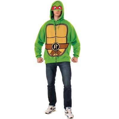 Teenage Mutant Ninja Turtles Raphael Hoodie Adult Costume
