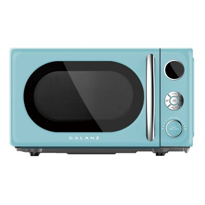 Galanz Retro 0.7 cu ft 700W countertop Microwave - Blue