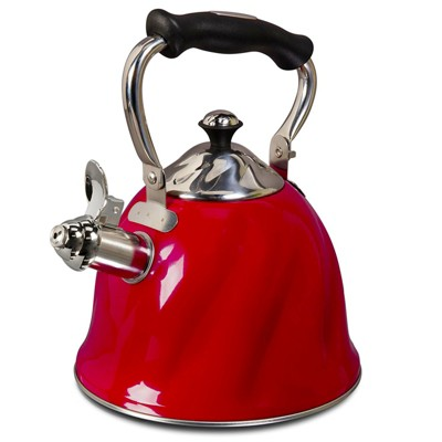 Alberton 2.3 Qt. Tea Kettle with Lid- SS Matt Polished