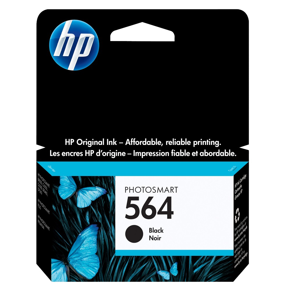HP 564 Photosmart Single Ink Cartridge - Black (CB316WN#140) Compare