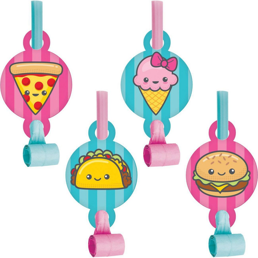 24ct Food Love Party Blowers