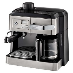 Delonghi Combination Drip Coffee, Espresso, Cappuccino and Latte Maker