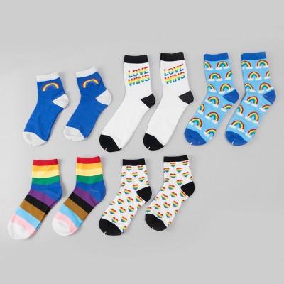 10pk Adult Socks Pride - Bullseye's Playground™
