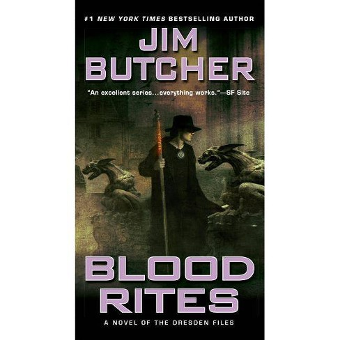Blood Rites - (Dresden Files) by  Jim Butcher (Paperback) - image 1 of 1