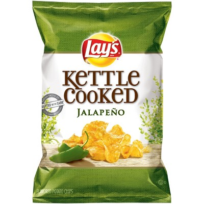 Lay's Jalapeño Kettle Cooked Chips - 2.87oz