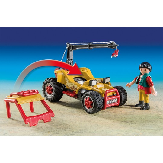 Playmobil Vehicle With Stegosaurus image number null