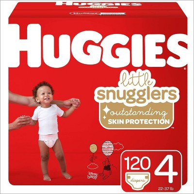Huggies Little Snugglers Diapers Huge Pack - Size 4 (116ct )