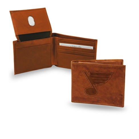 NHL Rico Industries Embossed Leather Billfold Wallet - image 1 of 1