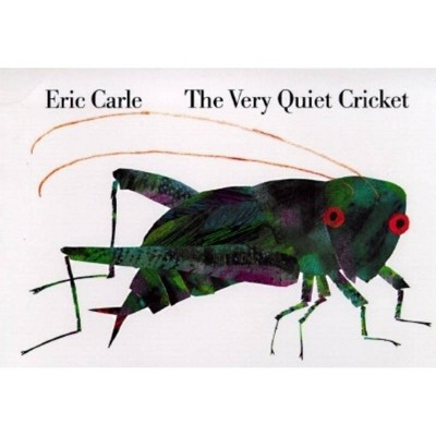 The Very Quiet Cricket by Eric Carle (Board Book)