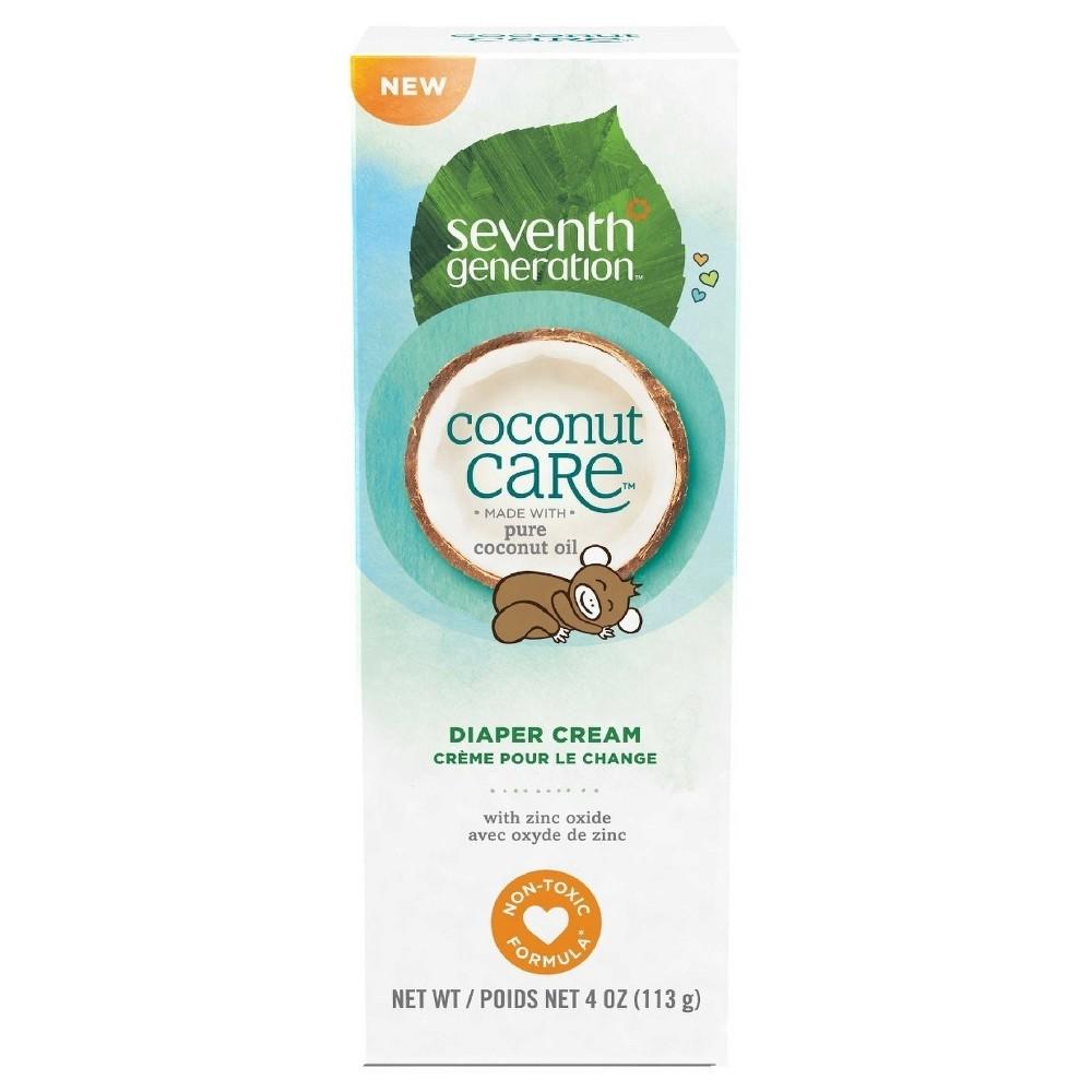 Seventh Generation Coconut Diaper Cream Tube - 4oz