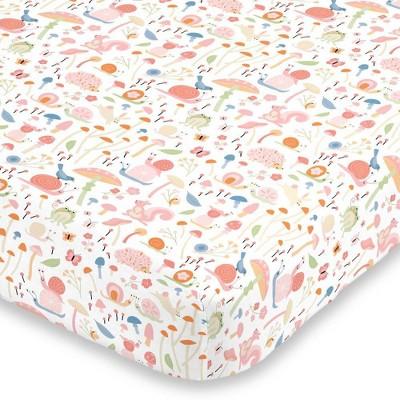 NoJo Spring Garden Crib Sheet