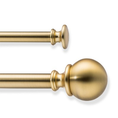 Double Ball Curtain Rod - Threshold™