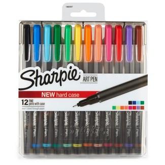 Sharpie® Art Pen Fine Tip 12ct - Multicolor