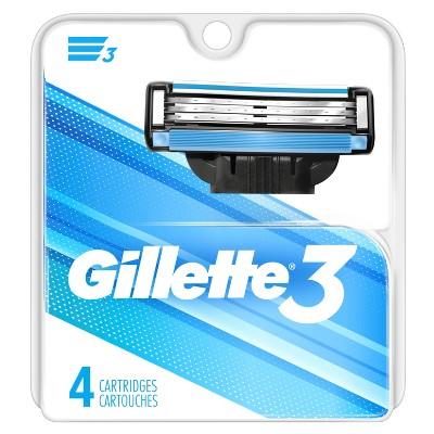 Razor Blades: Gillette 3