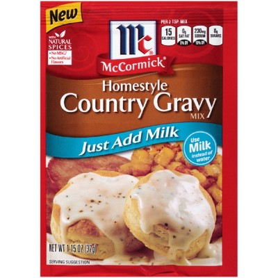 McCormick Homestyle Country Gravy Mix 1.15oz