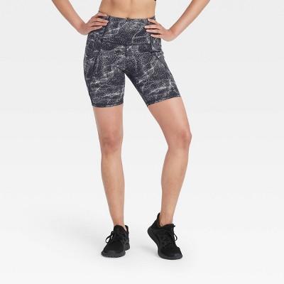 "Women's Sculpted Linear Bike Shorts 7"" - All in Motion™"