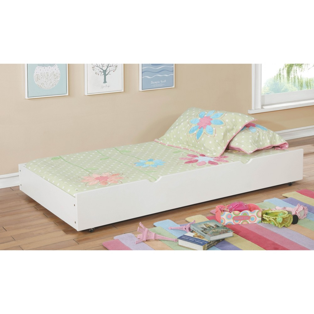 Karina Kids Trundle Twin Winter White - Homes: Inside + Out