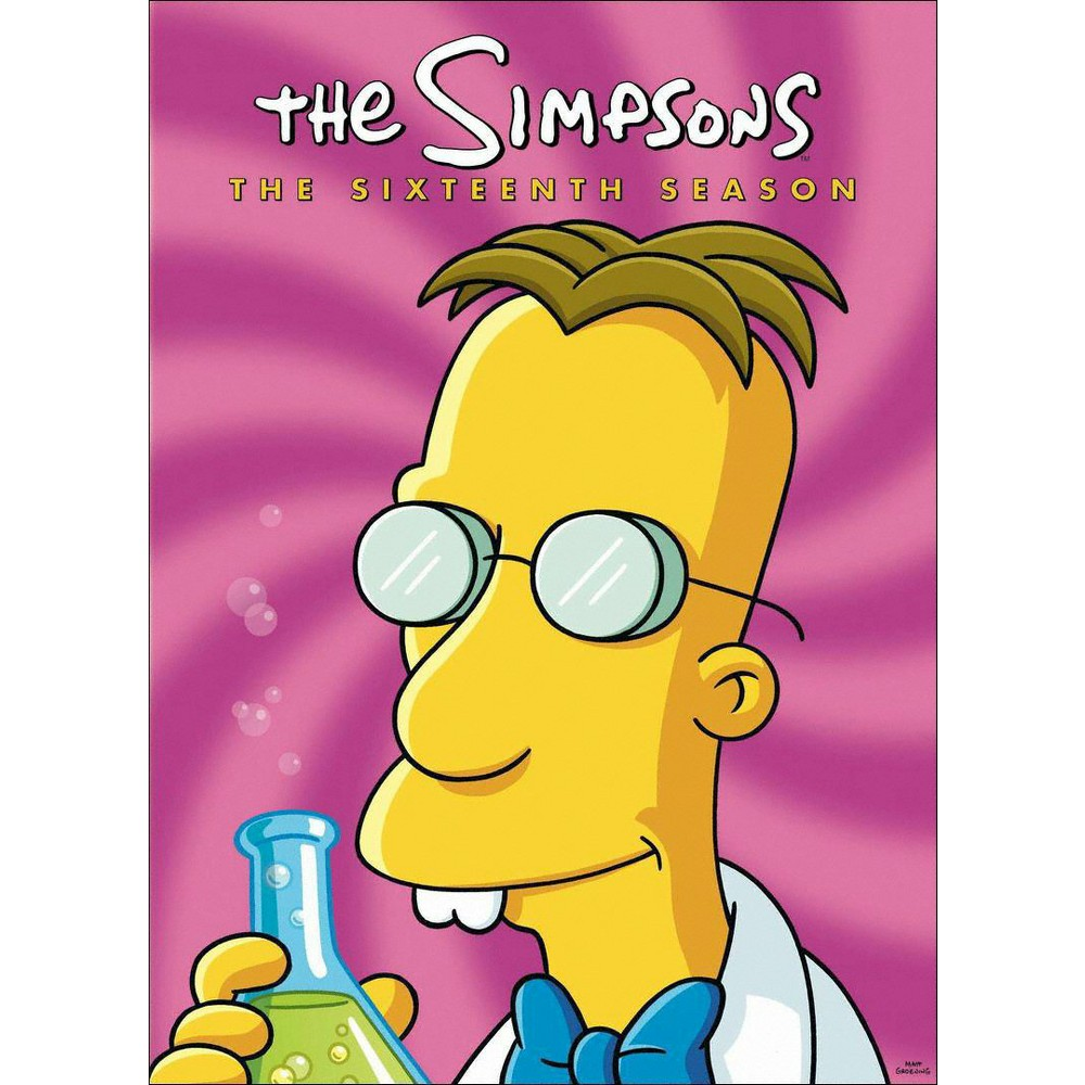 The Simpsons: The Sixteenth Season (4 Discs)