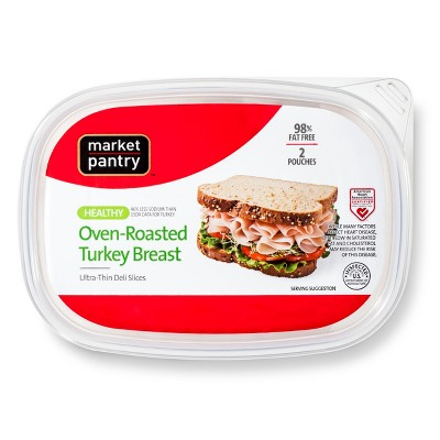 Healthy Oven-Roasted Turkey Breast - 16oz - Market Pantry™