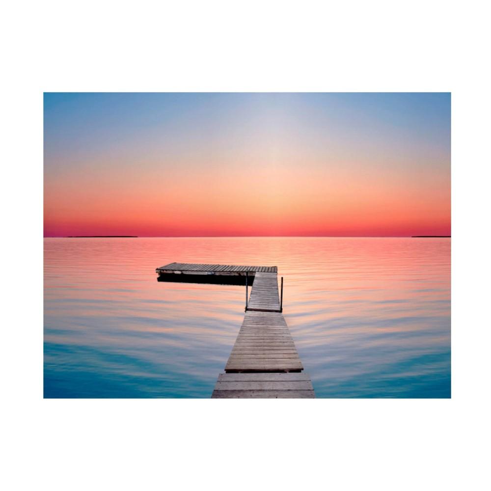 24 34 X 32 34 James Mcloughlin 39 Lakescape X 39 Unframed Canvas Art Trademark Fine Art