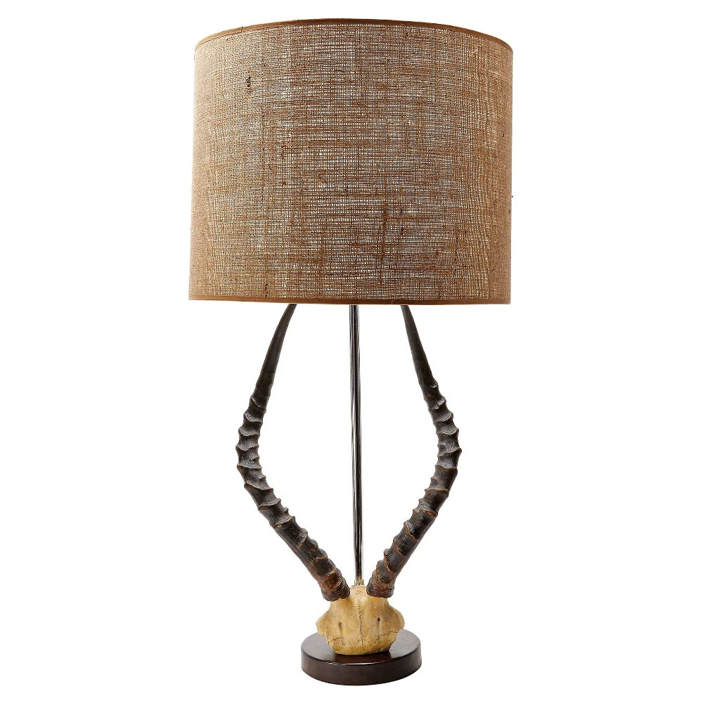 Image of Lazy Susan 31 in. Brown Table Lamp (Lamp Only)