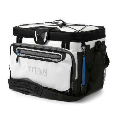 Arctic Zone Titan Deep Freeze Zipperless Hardbody 30 Can Cooler - White