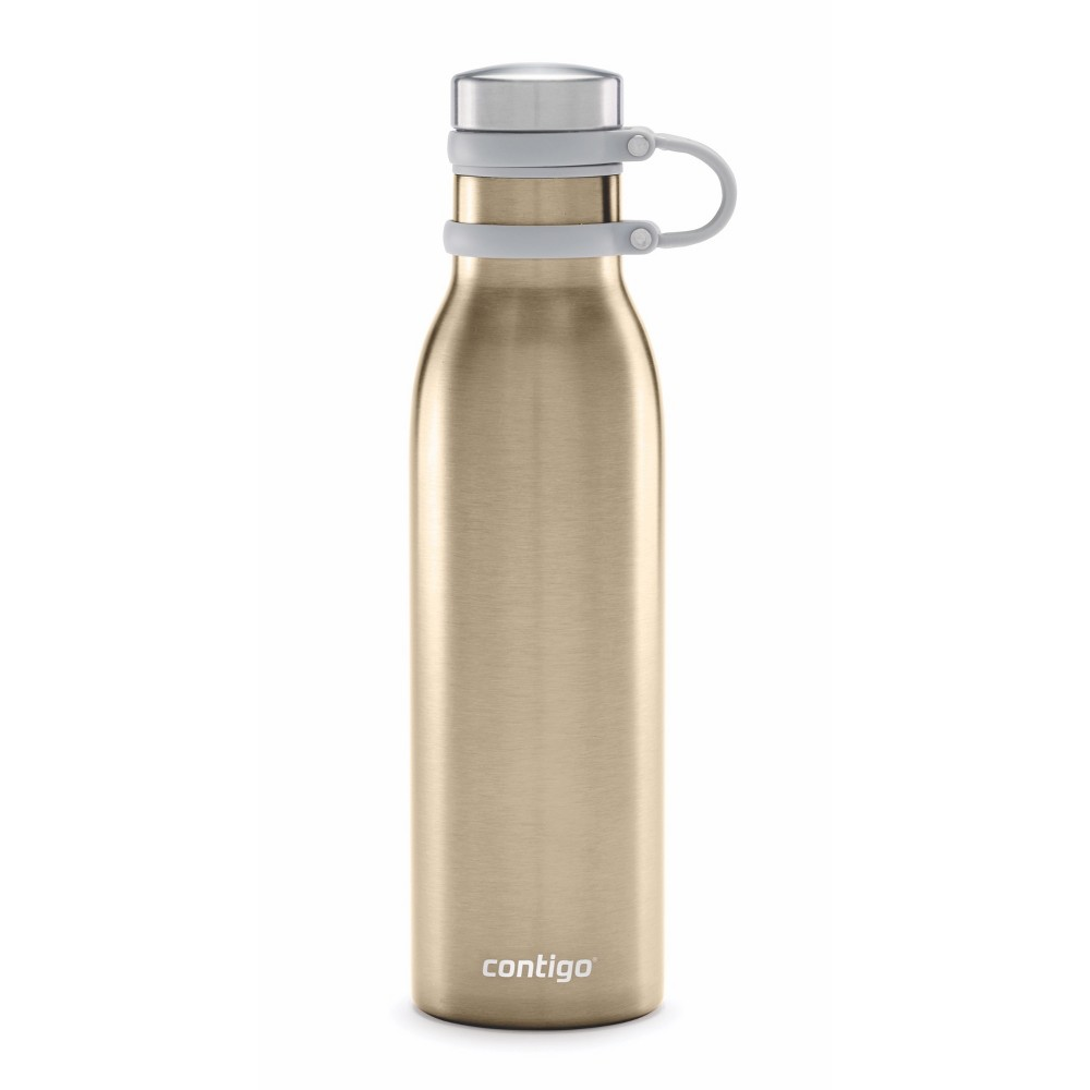 Image of Contigo 20oz Couture Thermalock Vacuum-Insulated Stainless Steel Water Bottle Chardonnay
