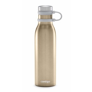 Contigo 20oz Couture Thermalock Vacuum-Insulated Stainless Steel Water Bottle Chardonnay