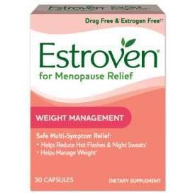 Vitamins & Supplements: Estroven Menopause Relief + Weight