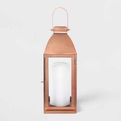 16  x 6  Lantern Candle Holder Copper - Smith & Hawken™