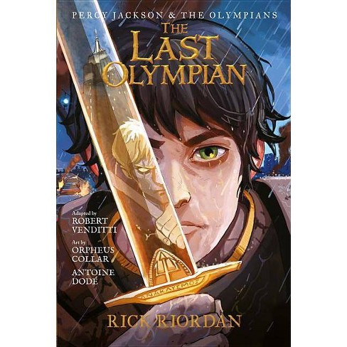 Percy Jackson and the Olympians the Last Olympian: The Graphic Novel - (Percy Jackson & the Olympians) - image 1 of 1