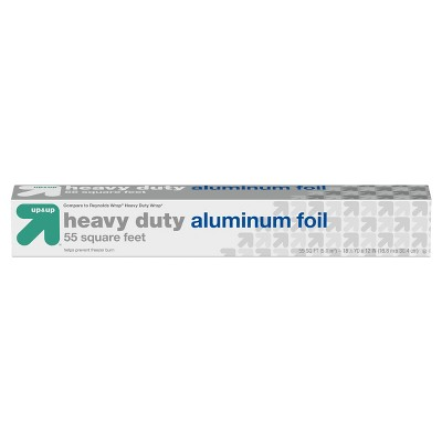 Heavy Duty Aluminum Foil - 55 sq ft - up & up™