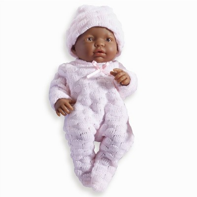 """JC Toys Mini La Newborn Boutique Realistic 9.5"""" Anatomically Correct Real Girl Baby Doll dressed"""