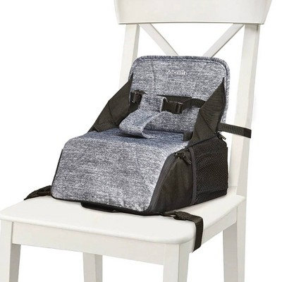 Kolcraft Travel Duo Convertible Booster Seat and Diaper Bag