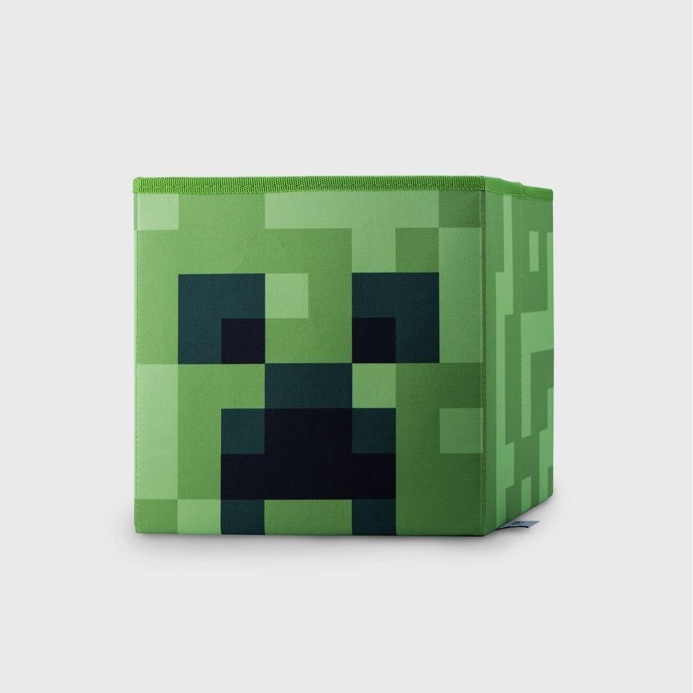 Minecraft Creeper Storage Bin