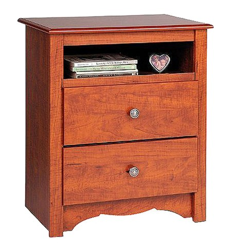 Open Shelf Nightstand Cherry - Monterey - image 1 of 4