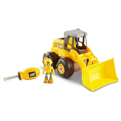 CAT Build Your Own Vehicle Junior Crew Wheel Loader