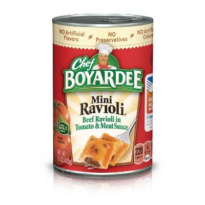 Chef Boyardee Mini Ravioli - 15oz