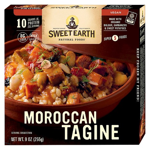 Sweet Earth Natural Foods Frozen Moroccan Tagine - 9oz - image 1 of 1