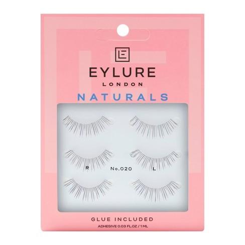 Eylure False Eyelashes Naturals No. 020 - 3pr - image 1 of 4