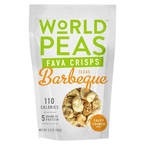 World Peas Texas Barbeque Fava Crisps - 5.3oz - image 1 of 1