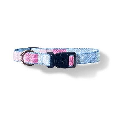 Patchwork Whale Dog Collar - Medium - Pink/Blue - vineyard vines® for Target
