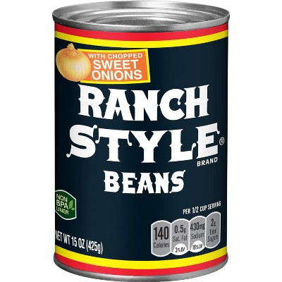 Ranch Style Beans with Chopped Sweet Onions 15oz